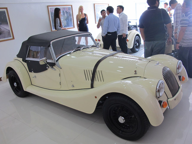 Morgan Motor Philippines inaugurates first dealership in the country