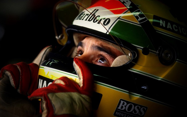 Ayrton Senna lives on