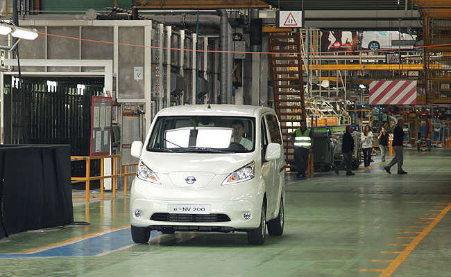 TopGear.com.ph Philippine Car News - Nissan begins production of its second all-electric vehicle model
