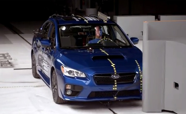 TopGear.com.ph Philippine Car News - Subaru WRX, WRX STI earn insurance organization's top award