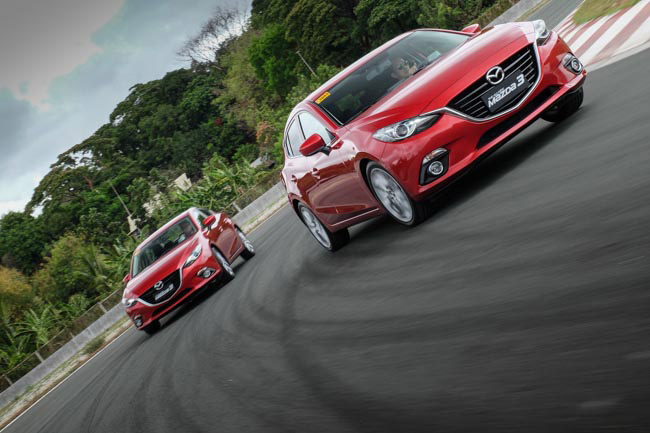 Which body style of the all-new Mazda 3 is more popular in the Philippines?