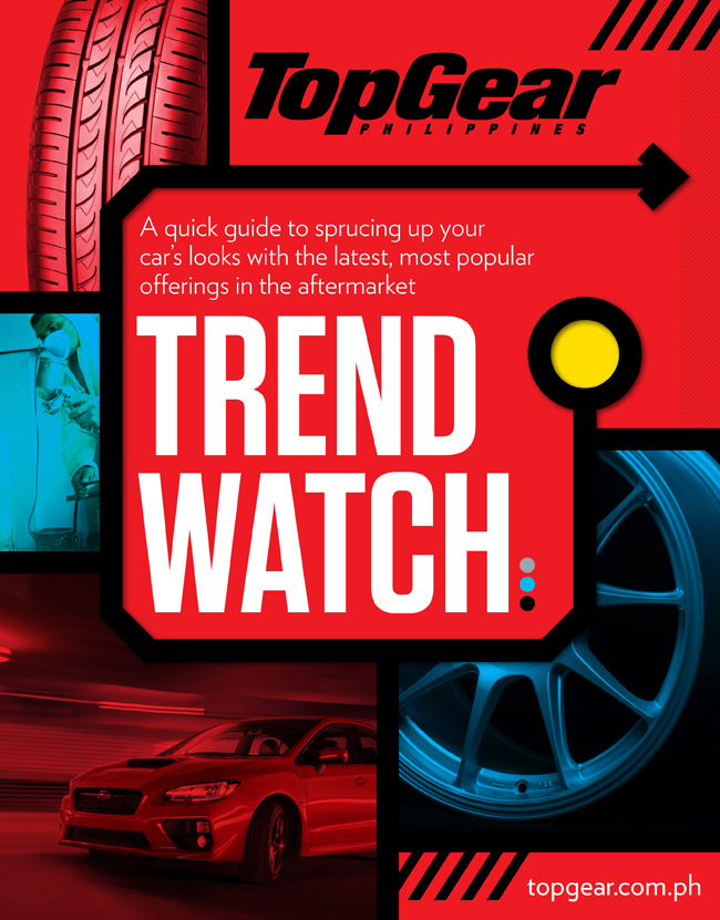 "Free ""Trend Watch"" supplement with Top Gear PH's May 2014 issue"