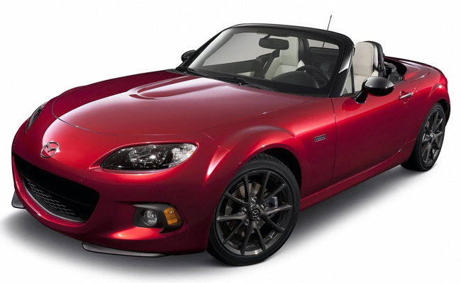 Mazda Miata 25th Anniversary Edition