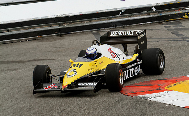 TopGear.com.ph Philippine Car News - Alain Prost drives his old Formula 1 car in Monaco