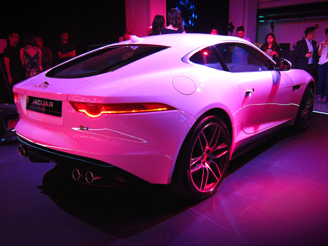 The Jaguar F-Type Coupe arrives in the ASEAN region