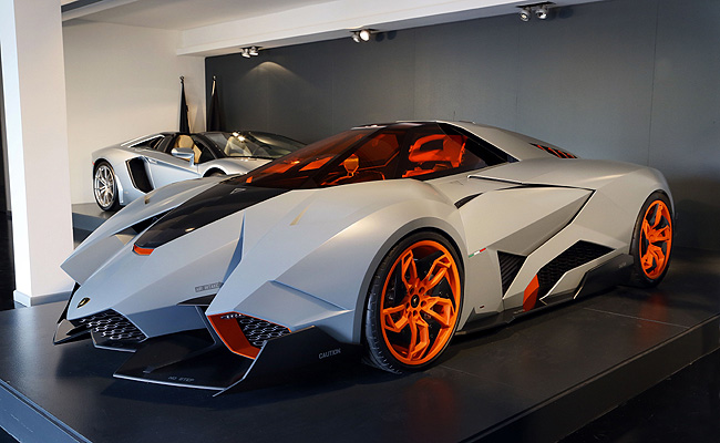 Lamborghini Egoista To Be Put On Permanent Display Inside Museum