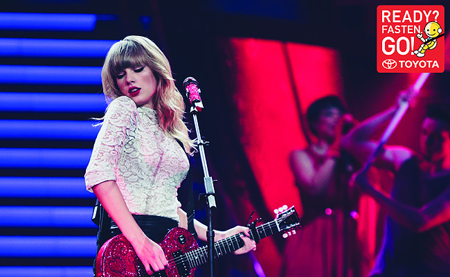 TopGear.com.ph Philippine Car News - Taylor Swift to help with Toyota's ASEAN road safety camp