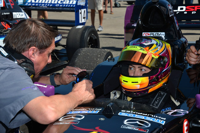 Michele Bumgarner: Redeeming myself at Barber Motorsports Park