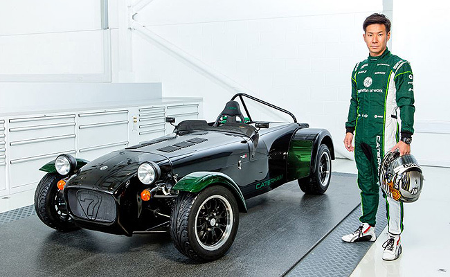 TopGear.com.ph Philippine Car News - Caterham launches Kamui Kobayashi-spec'd Seven 250R