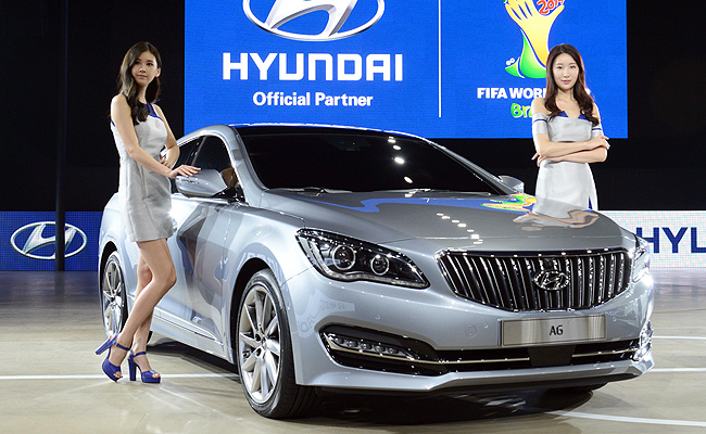 TopGear.com.ph Philippine Car News - Hyundai previews upcoming full-size sedan