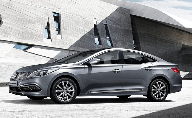 TopGear.com.ph Philippine Car News - Hyundai updates Azera with new front fascia, diesel engine