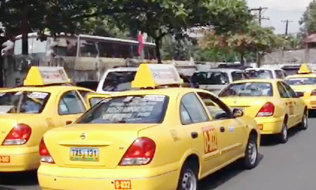 Airport taxicabs