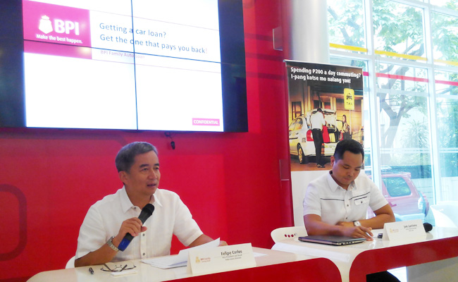 TopGear.com.ph Philippine Car News - BPI Family Savings Bank launches car loan promo that pays you b