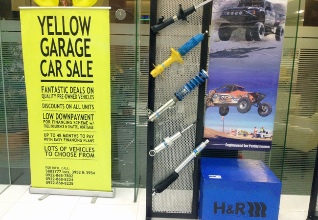 Maybank Yellow Garage Car Sale