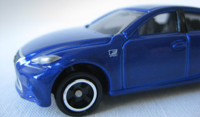 The next car toy bestseller: Tomica Lexus IS350 F Sport