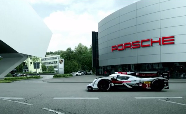 TopGear.com.ph Philippine Car News - Video: Audi welcomes Porsche's return to Le Mans