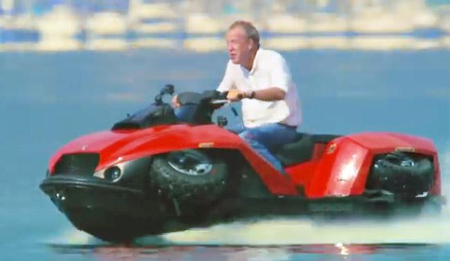 Gibbs Quadski on Top Gear