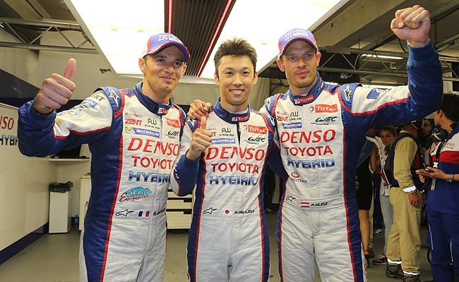 TopGear.com.ph Philippine Car News - Toyota takes pole position in 2014 staging of Le Mans 24 Hours