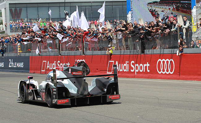 TopGear.com.ph Philippine Car News - Audi claim its fifth straight 24 Hours of Le Mans title