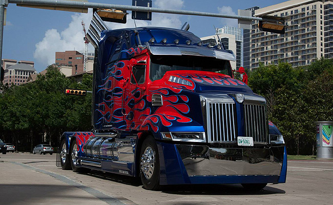 TopGear.com.ph Philippine Car News - Uber fields Optimus Prime in the US