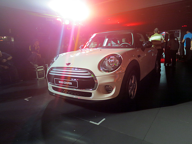 Philippine launch of new Mini