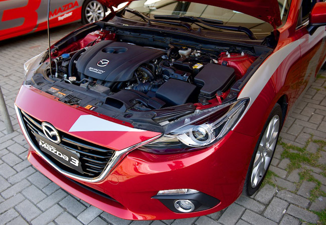 Head To Head: Can You Beat Michele Bumgarner in an All-New Mazda 3 Skyactiv?