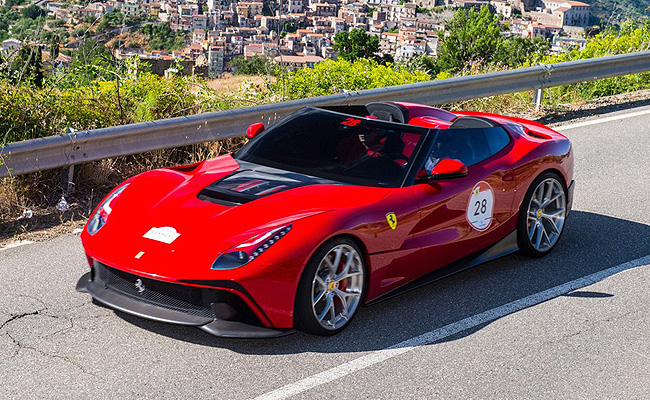 TopGear.com.ph Philippine Car News - Ferrari officially debuts latest one-off