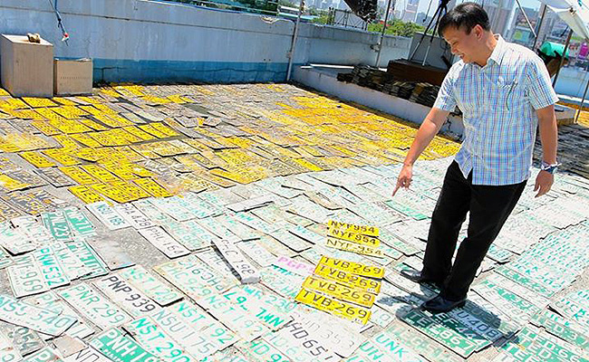 Topgear.com.ph Philippine Car News - MMDA has over 20,000 unclaimed vehicle license plates
