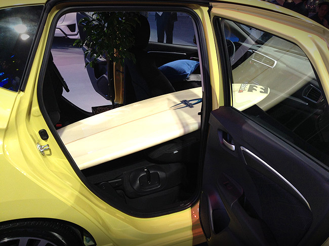 What can you fit inside the all-new 2014 Honda Jazz?
