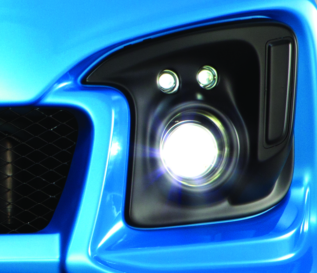 Honda Jazz Mugen fog light