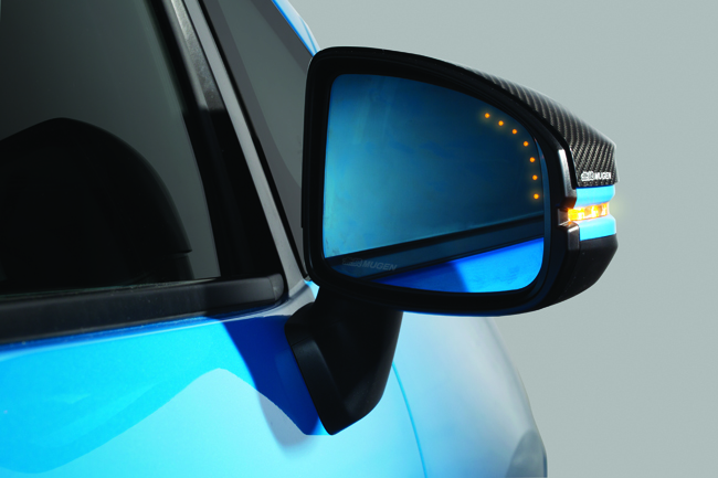 Honda Jazz Mugen side mirror