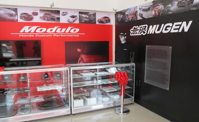 Honda Cars Greenhills Mugen/Modulo corner