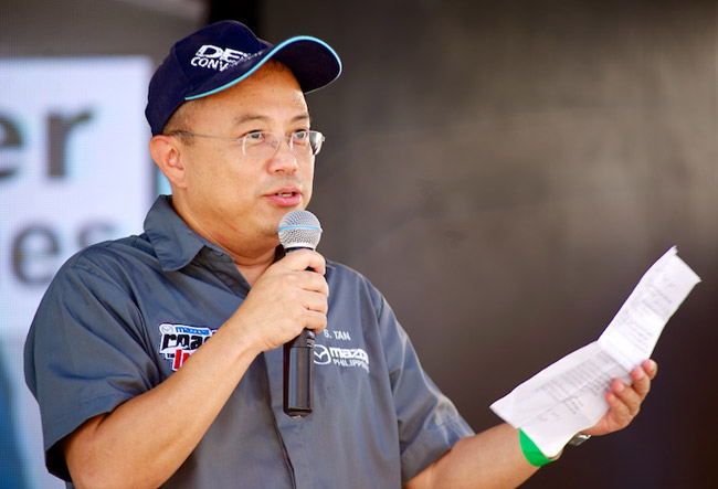 Mazda Philippines president and CEO Steven Tan