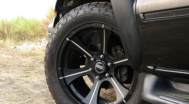 Chevrolet Suburban Concept One wheels