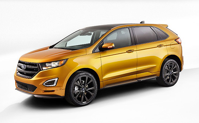 All New Ford Edge Launched Now With Ecoboost Engines As Standard