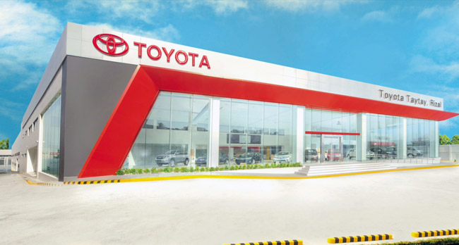 toyota philippines opens 2 new showrooms number of