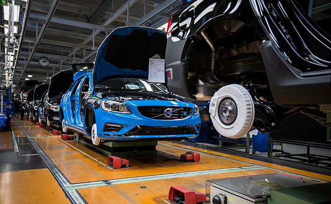 TopGear.com.ph Philippine Car News - Volvo begins production of S60, V60 Polestar models