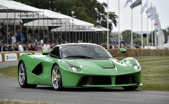 TopGear.com.ph Philippine Car News - Why is the LaFerrari of Jamiroquai's Jay Kay green?