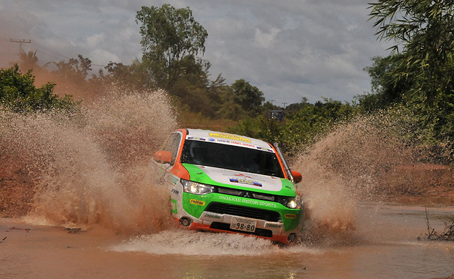 TopGear.com.ph Philippine Car News - Mitsubishi to run Outlander PHEV in 2014 Asia Cross Country Rally