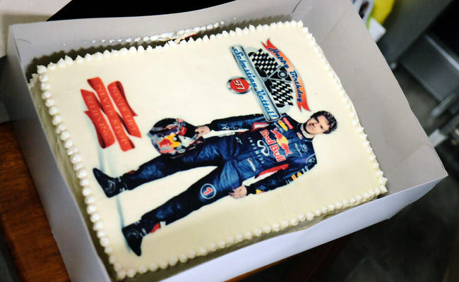 Sebastian Vettel's 27th birthday
