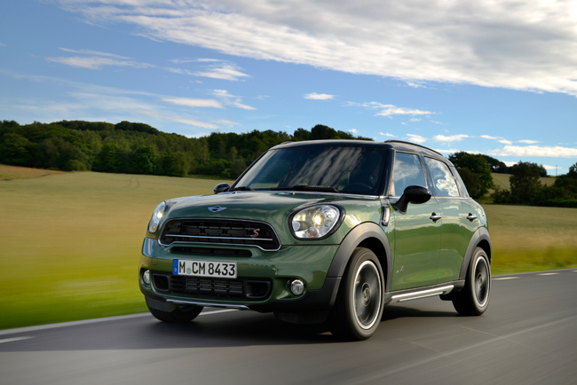 Mini Countryman face-lift