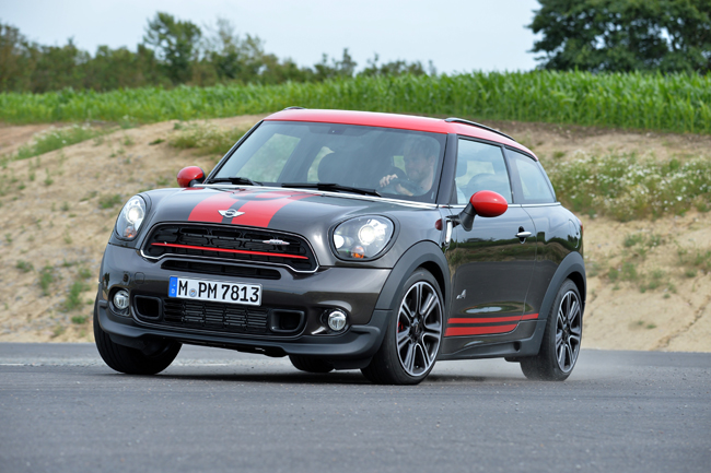 Mini Paceman face-lift