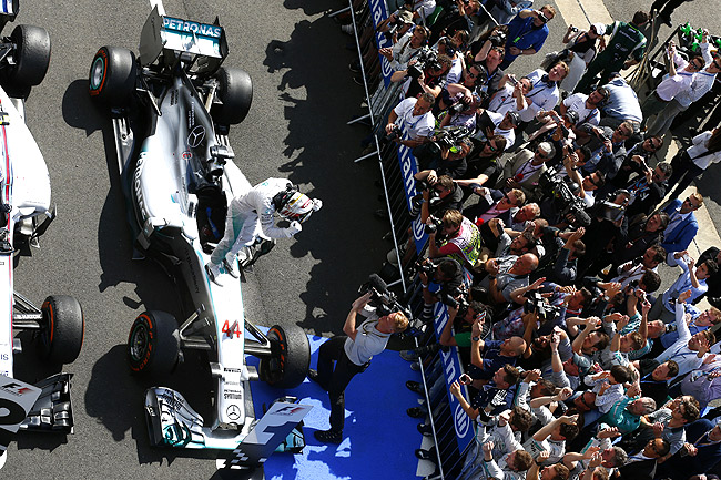 Not your usual Formula 1 race recap: 2014 British Grand Prix
