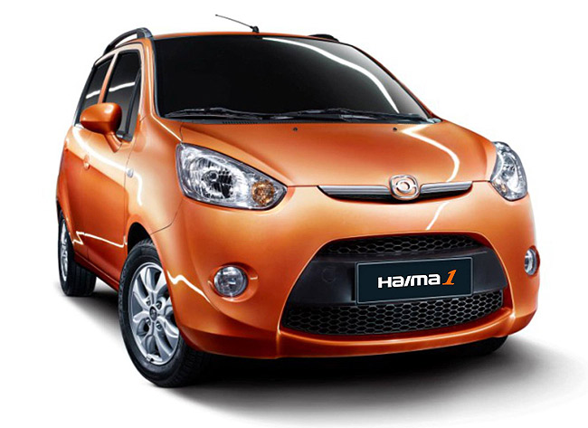 Haima to launch A-segment hatchback
