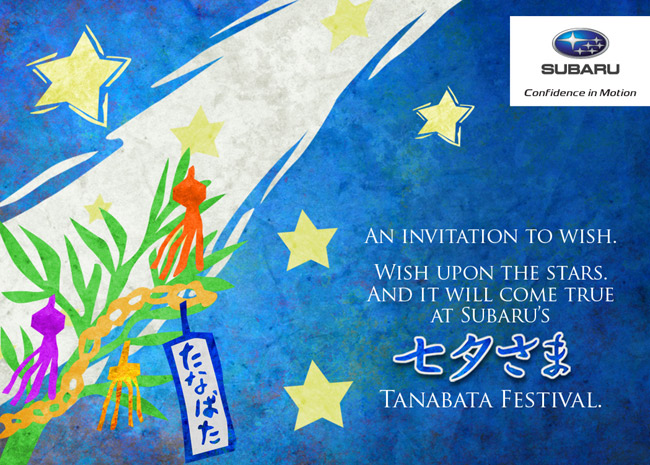 Subaru Philippines shows customer appreciation with Tanabata Festival