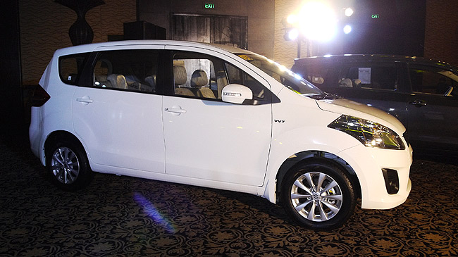 Suzuki Ertiga launched in the Philippines