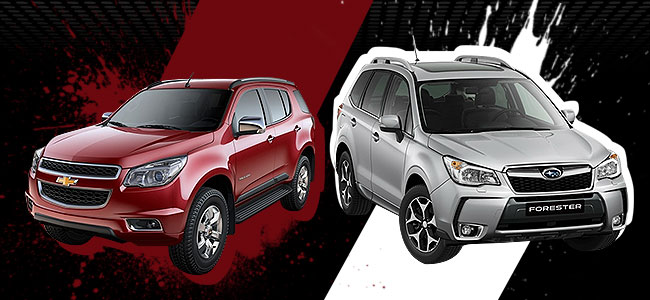 Top Gear Philippines: Chevrolet Trailblazer vs. Subaru Forester XT
