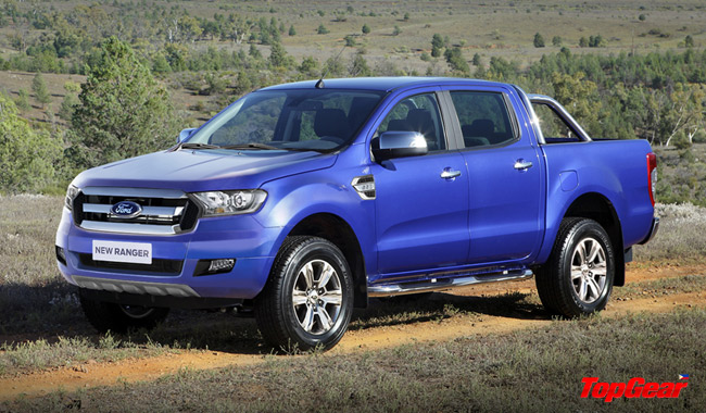 We think the 2015 Ford Ranger facelift will look like this