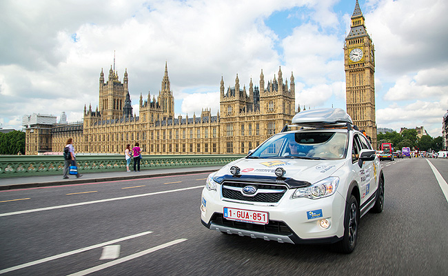 TopGear.com.ph Philippine Car News - Subaru XV making 35,000km trip from London to Mongolia--and back