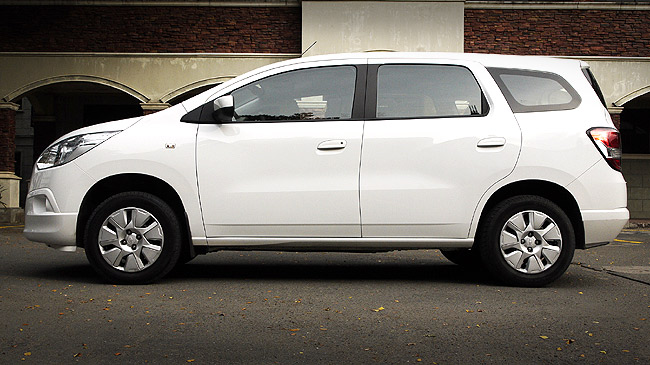 Chevrolet Spin LS 1.3 TCDi review in the Philippines